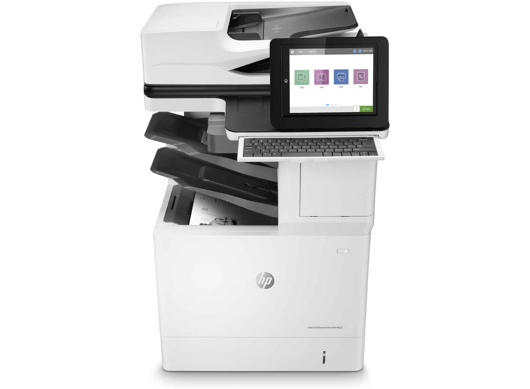 HP laserjet Enterprise Flow M88OZ+ printer