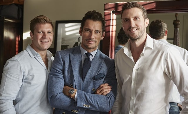 How we convinced fashion icon David Gandy to be our brand ambassador