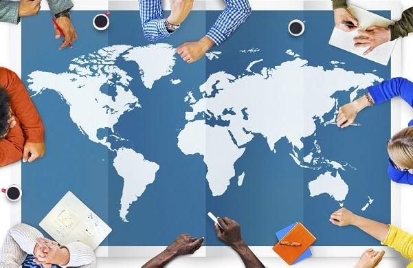 International payments platform
