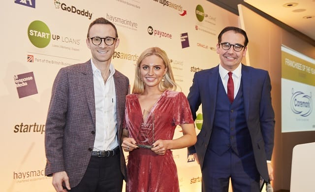 Hannah Drury Startups Awards Franchisee of the Year
