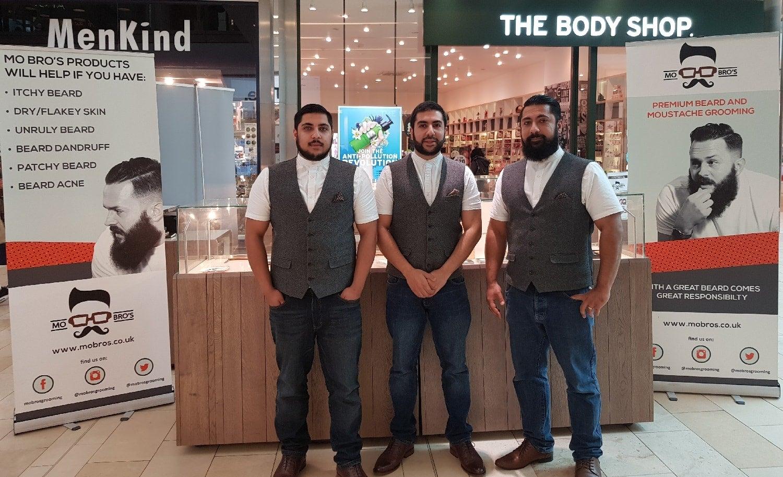 Founders of Mo Bros Kunal Dattani,Keval Dattani andSavan Dattani