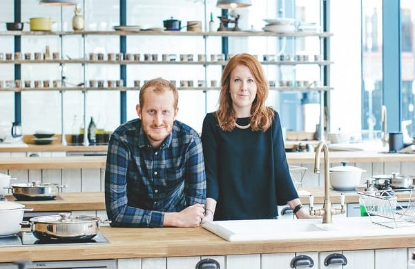 Kitchup co-founders: Twins Charlie and Emma Jones