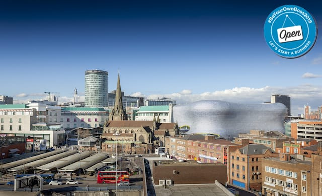 Birmingham start-up city