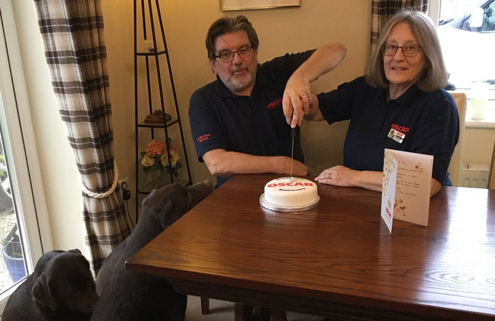 OSCAR Pet Food franchisees Steve and Jill Tubbs