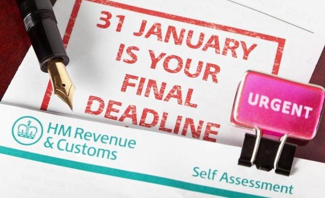 Self employed Self Assessment Tax Return deadline