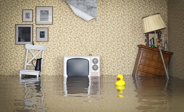 Flooded home insurance