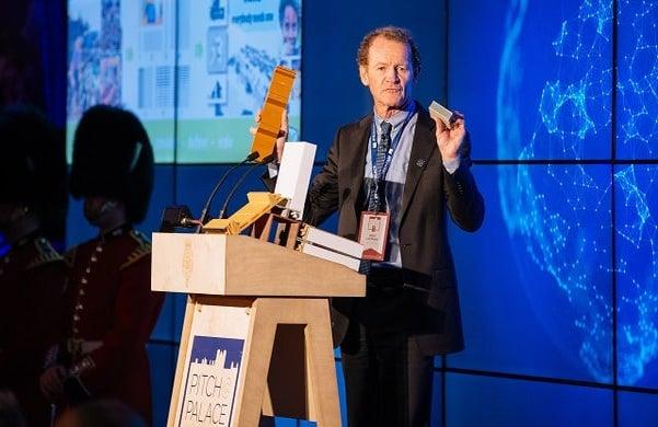 Nev Hyman from the Australian company NevHouse - winner of Pitch@Palace Global 2.0