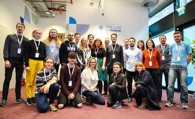 Seven start-ups are part of the first wave of businesses to benefit from a 12 week mentoring programme at Facebook LDN_LAB