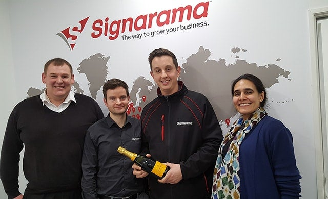 "Signarama offers ""low fuss, low overhead"" business opportunity with new franchise model"