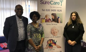 "SureCare opens Bromley branch to help solve ""crisis in health and social care"""