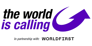 WorldFirst - The World is Calling Zone sponsor
