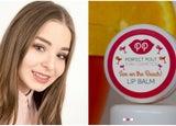 Rose Dyson and Pura Cosmetics lip balm