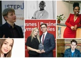 Ed Hollands, Rose Dyson, Leon Ifayemi, Maciek Kacprzyk and Karina Sudenyte, Ifeyinwa Frederick, Zack Nathan