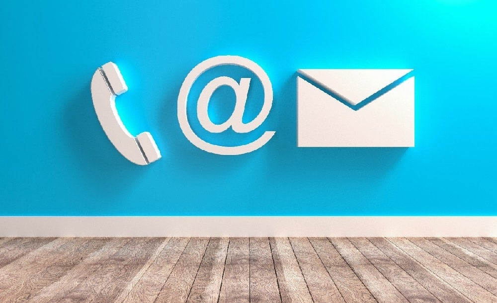 Internet services, email, phone, social media