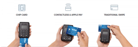 PayPal Here payment methods