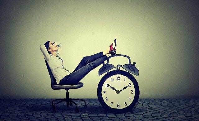 Relaxing entrepreneur