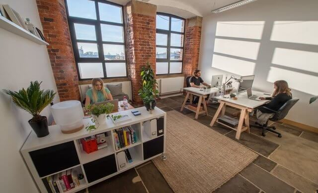 beam works coworking office leeds