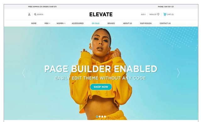 BigCommerce fashion template