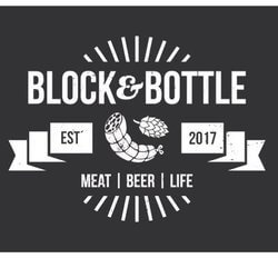 block and bottle