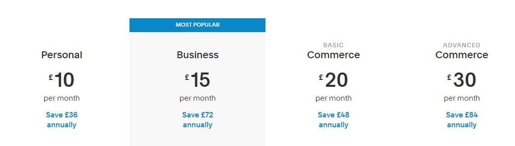 Squarespace-pricing