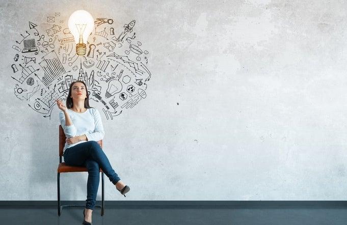 businesswoman female entrepreneur start-up funding