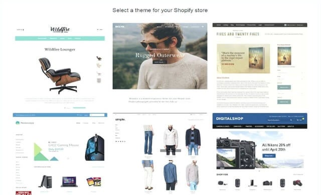 shopify stores examples