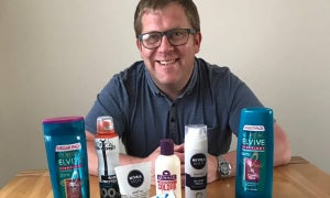 Founder of Holitries Craig McClean holiday toiletry delivery