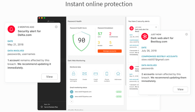 dashlane protection