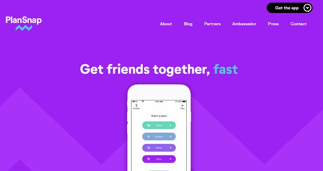 Plansnap-website