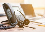 VoIP phone and headset