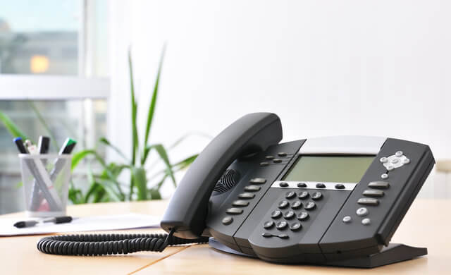 VoIP phone installation