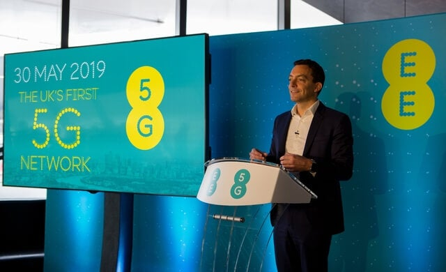 ee to launch the first 5G service in six cities across the uk
