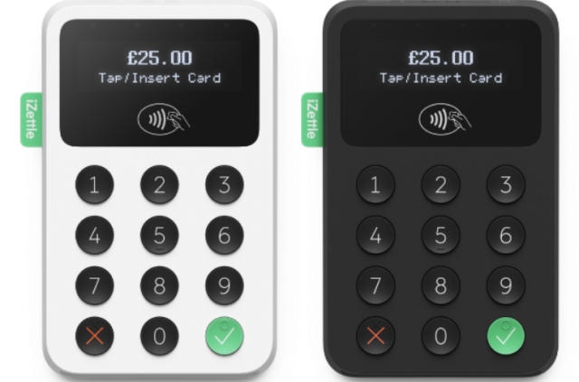 izettle 2 card reader