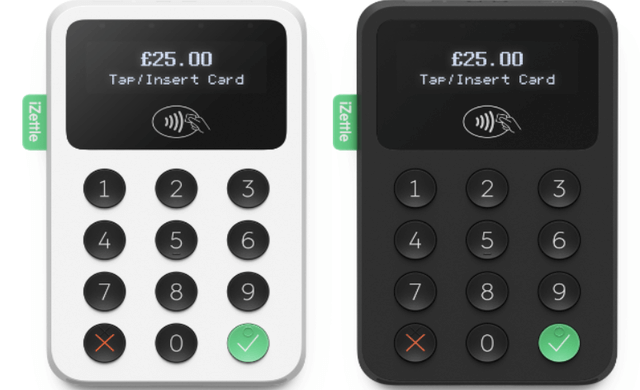 mobile card readers izettle