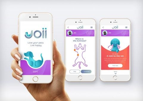 joii pet care app