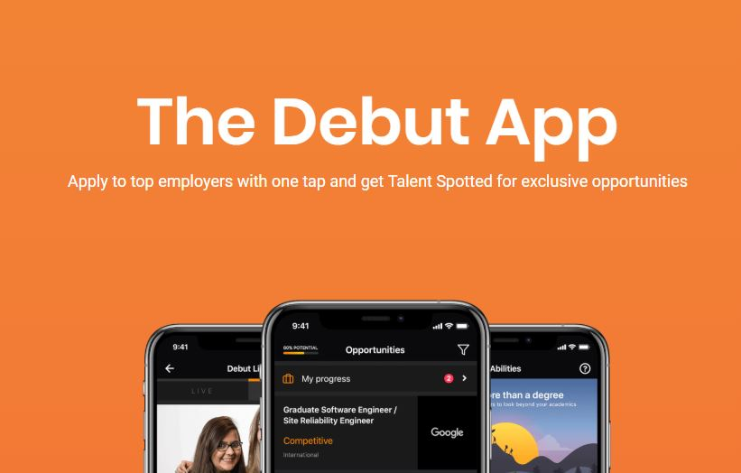 debut recruitment platform