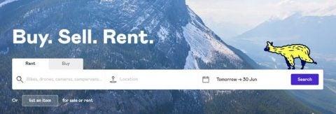 fat llama sharing economy startup