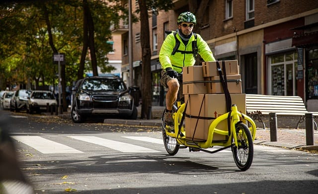 Sustainable bike delivery