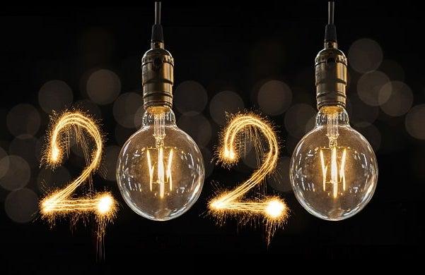 Startups 100 2020 lightbulbs