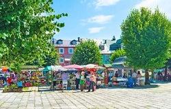 Market stall insurance