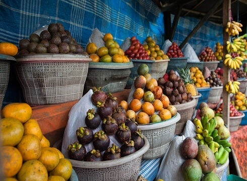 Farmer's market stall