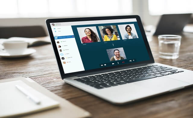 How can businesses best support staff working remotely?