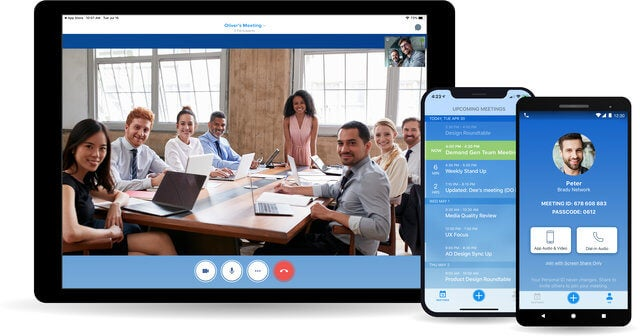 BlueJeans video conferencing software