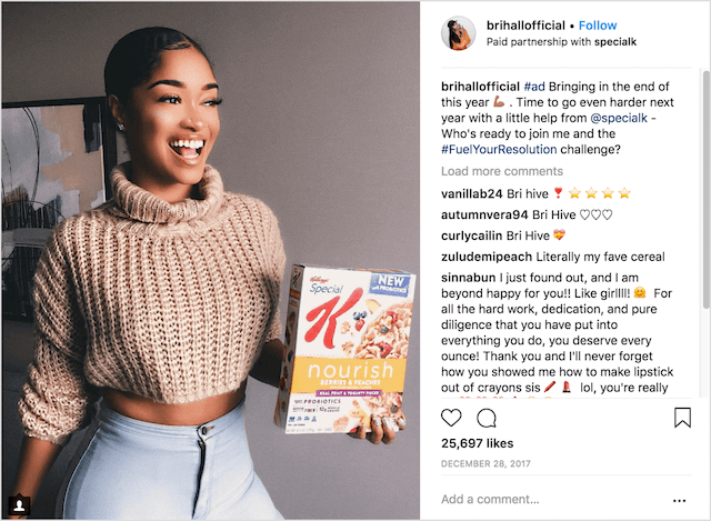 Influencer marketing growing an ecommerce business
