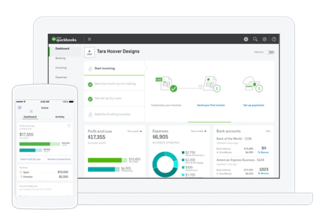 QuickBooks accounting software for small businesses