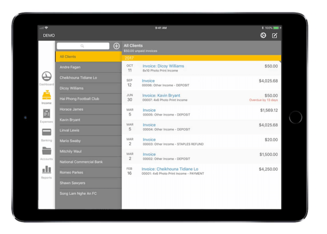Kashoo accounting software for small businesses