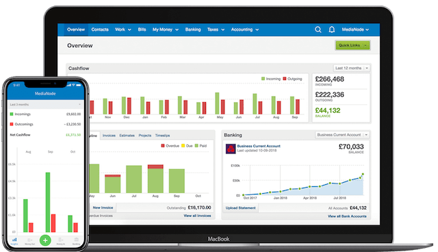 FreeAgent accounting software for small businesses
