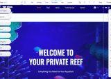 Wix aquariam template