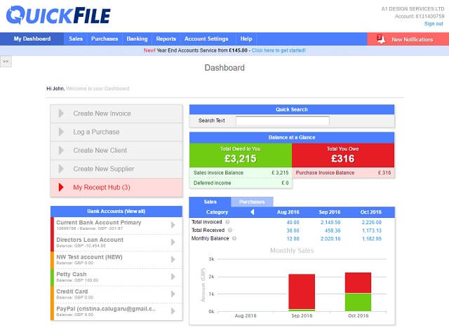 best free accounting software for small business uk