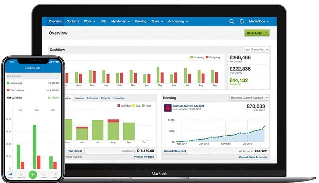 FreeAgent screengrab (best free accounting software)